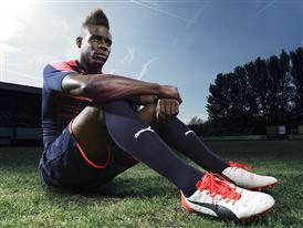Mario Balotelli wears the new PUMA evoPOWER 1.2 Football Boot 8