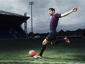 Cesc Fabregas wears the new PUMA evoPOWER 1.2 Football Boot 1