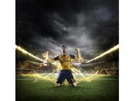 PUMA Launches the 2015-16 Arsenal Away Kit_Giroud