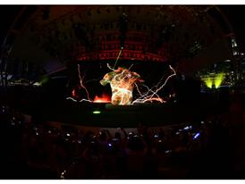 PUMA launch the new Arsenal Away Kit through a spectacular projection show 2