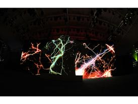 PUMA launch the new Arsenal Away Kit through a spectacular projection show 1