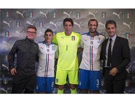 FIGC & PUMA Launch The New Italy Away Kit