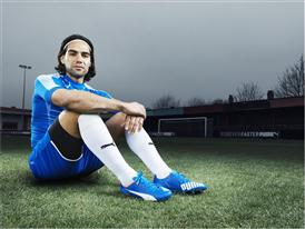 Falcao Wears the New PUMA evoSPEED SL_6