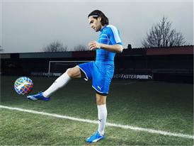 Falcao Wears the New PUMA evoSPEED SL_2