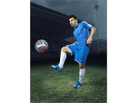 Aguero Wears the New PUMA evoSPEED SL_4