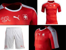 PUMA & SFV Launch the New Switzerland  Home Kit