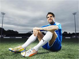 Cesc Fàbregas Wears the New evoPOWER 1.2 Pop Art Football Boot
