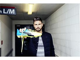 Olivier Giroud & the New PUMA evoPOWER 1.3