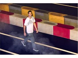 Red Bull Racing Driver Daniel Ricciardo Wears the New SS16 PUMA Red Bull Racing Lifestyle Gear