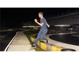 Red Bull Racing Driver Daniel Ricciardo Wears the New SS16 PUMA Red Bull Racing Lifestyle Gear 2