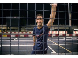 Red Bull Racing Driver Daniel Ricciardo Wears the New SS16 PUMA Red Bull Racing Lifestyle Gear 4