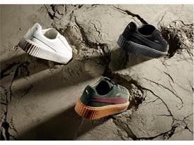 RIHANNA AND PUMA REVEAL THREE NEW COLOURWAYS OF THE SELL-OUT CREEPER COLLECTION FOR SUMMER