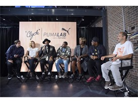 Guest Panel at the PUMA x Foot Locker Event on September 28, 2016 in New York City