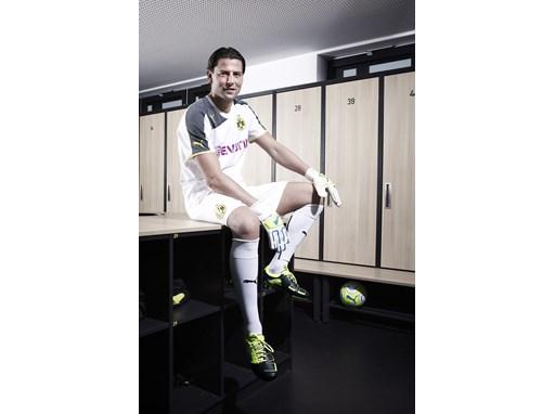 Roman Weidenfeller wears the latest PUMA PowerCat Football Boots