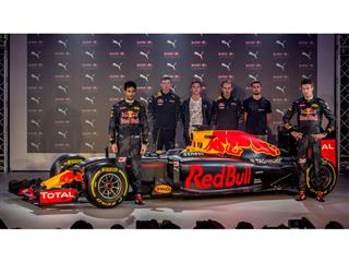 RED BULL RACING & PUMA REVEAL STRIKING NEW TEAM LOOK FOR 2016