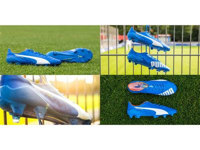 Bright Blue evoSPEED SL Football Boot Launched by PUMA