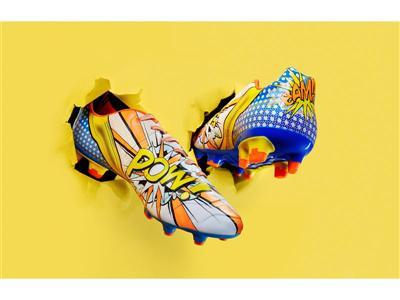 BAM!! POW! PUMA Launches Pop Art Football Boot