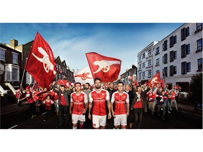 PUMA Reveals New Arsenal Home Kit For 2016/17 Season