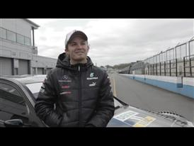 Nico Rosberg Interview in German, PUMA Race Off