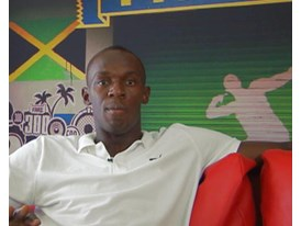 V Usain Bolt Interview 2