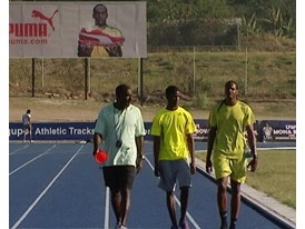 GVs Usain Bolt Training