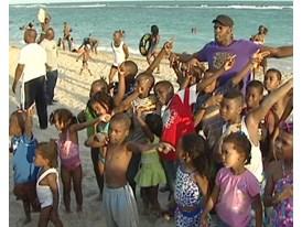 GVs Usain Bolt on Hellshire Beach, Jamaica