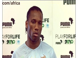 Didier Drogba, Ivory Coast Football Player (English)