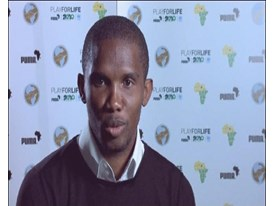 Samuel Eto'o, Cameroon Captain (French Answers)