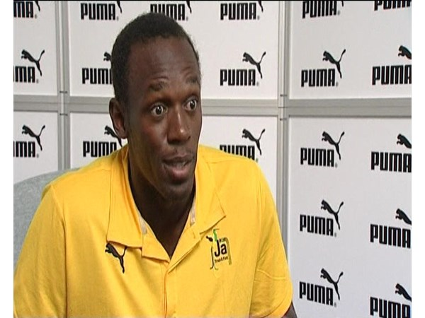 Usain Bolt Interview and Signing of Berlin Wall