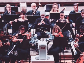 ABB's YuMi Robot Takes Center Stage in Pisa, Conducts Andrea Bocelli and Lucca Symphony Orchestra