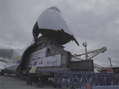 How to Move 155 Tons 3,000 km in Four Hours