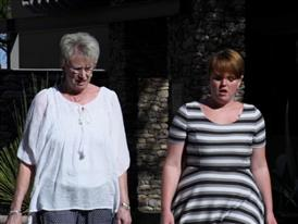 Shelley Smith Visits Phoenix Hope Lodge