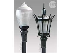 Fashionable ANTIQUE Street Lamps Fixtures Now Offered with Engineered LED System