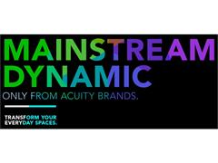 Acuity Brands Brings Dynamic Lighting to Mainstream Applications; Desirable features, preferred forms and scalable networks help transform everyday spaces with dynamic lighting