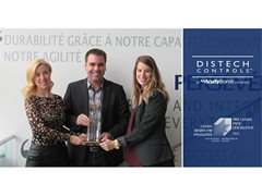 Distech Controls Honored with 2016 Canada Awards for Excellence; Receives Gold Award in the Quality and Project Category