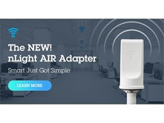 New nLight AIR Adapter from Acuity Brands Connects Wireless and Wired Controls Systems, Enabling Management from a Single Point  -  A Foundational Step for Creating Connected Building Spaces
