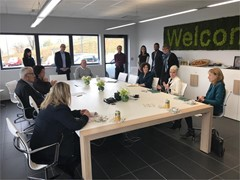 Distech Controls Hosts Canadian Ambassador at the European Head Office in Lyon; A Focus on Uniting the Innovation Ecosystem Between French-Speaking Communities