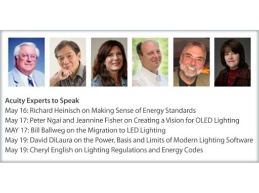 Hear Acuity Brands Experts at LIGHTFAIR