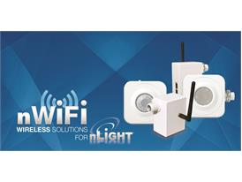 Sensor Switch Launches nWiFi Wireless Solution for nLiGHT Network Lighting Control System