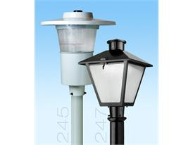 American Electric Lighting Offers Popular Post Top Series Luminaires in LED