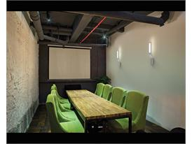 NOMI Green Chair Conference Room