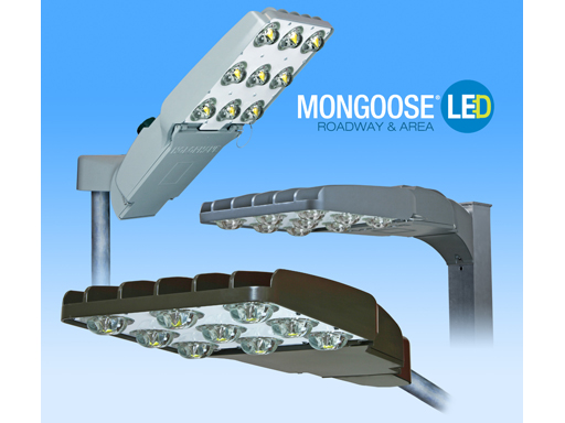 New Mongoose LED Luminaires from Acuity Brands Lower Operating Costs, Boost Visibility for High-Speed Roadways, Area Lig