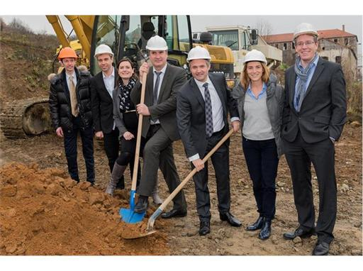 Groundbreaking Ceremony for Distech Controls' New European Headquarters