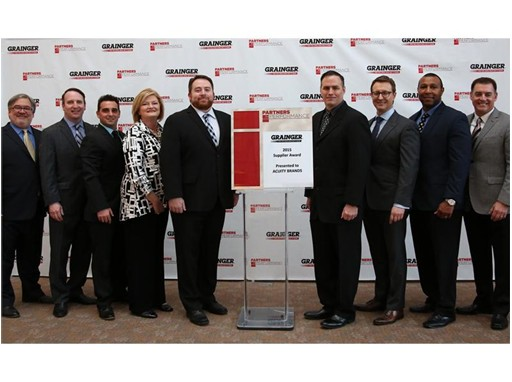 Acuity Brands Recognized as Outstanding Supplier by Grainger
