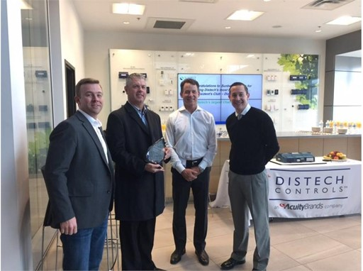 Distech Controls Honors Sunbelt Controls with Annual President's Club – Diamond Award