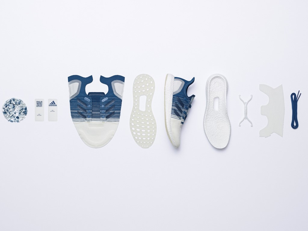 Bagian sepatu Futurecraft Loop (Foto via news.adidas.com)