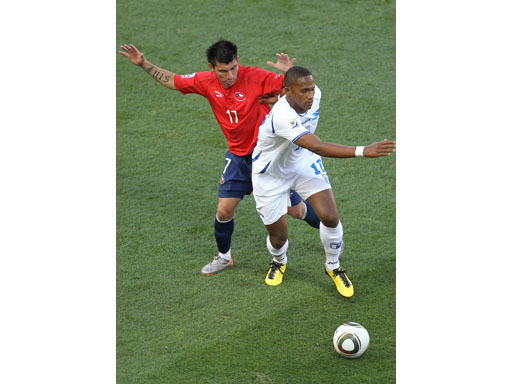 Honduras vs Chile