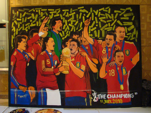 FIFA 2010 WORLD CUP ADIDAS THE CHAMPIONS JULY 11