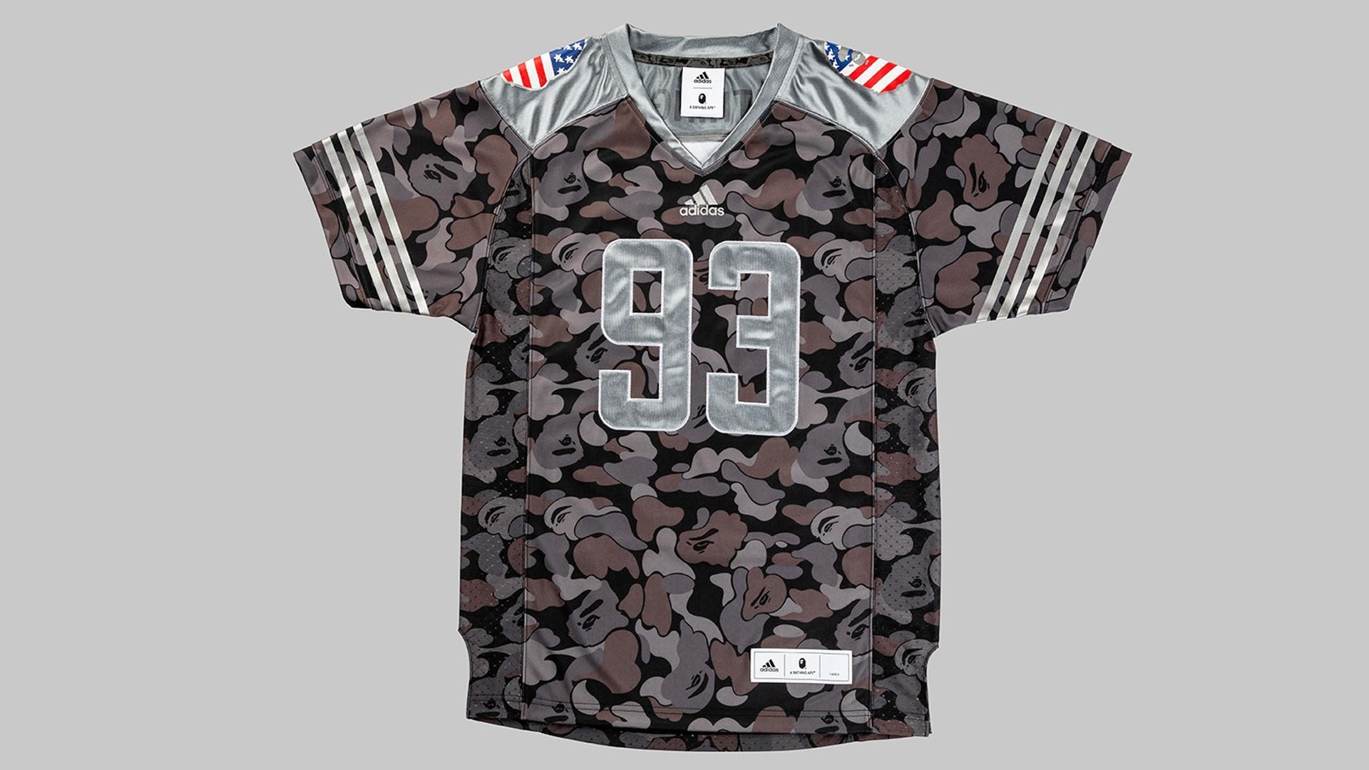 adidas   BAPE® Jersey Black. 63324a0aa4449