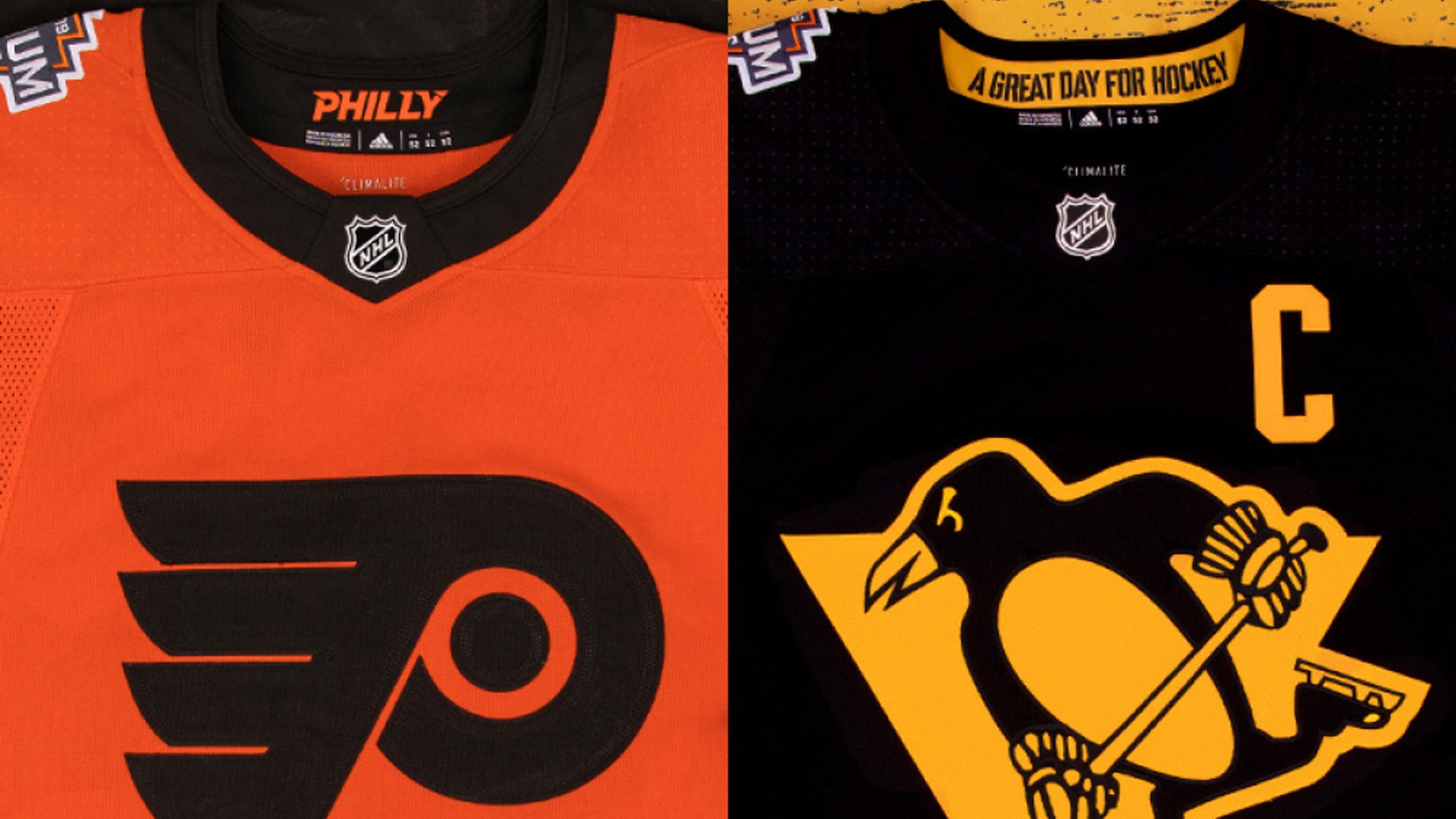 info for e0c3c ea1e1 Philadelphia Flyers, Pittsburgh Penguins, NHL & adidas ...
